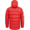 """The North Face M's Summit L6 Belay Down Parka Fiery Red"""